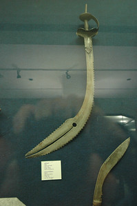 National Museum, swords from ate 16th century