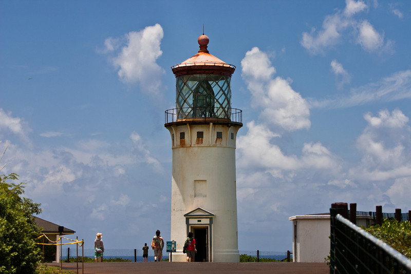 Kīlauea Point Lighthouse<br /> June, 2008