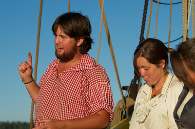 Crew members on the Lady Washington