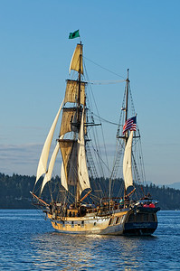 The sister ship - The Hawaiian Chieftain also visiting for Harbor Days.  Home port for both ships is Grays Harbor, Washington
