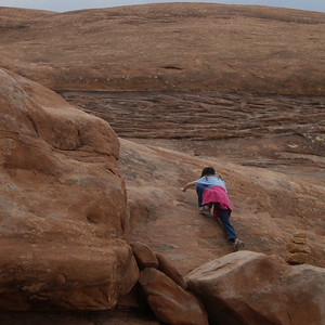 Hiking to Lost Canyon Canyonlands National Park