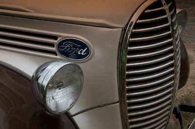 Front Grill of 1939 Ford Pickup