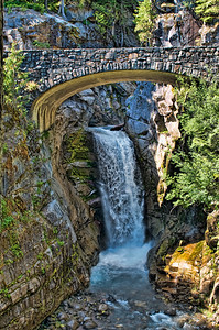 Christine Falls - Mt Rainier National Park