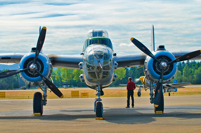 The North American B-25 Mitchell