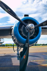 North American B-25 Mitchell Engine and Prop  The B-25 was an American twin-engined medium bomber manufactured by North American Aviation. It was used by many Allied air forces, in every theater of World War II, as well as many other air forces after the war ended, and saw service across four decades.  The B-25 was named in honor of General Billy Mitchell, a pioneer of U.S. military aviation. The B-25 is the only American military aircraft named after a specific person. By the end of its production, nearly 10,000 B-25s in numerous models had been built.