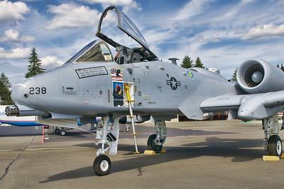The Fairchild Republic A-10 Thunderbolt II