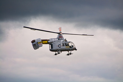 HH-43 Huskie - The only one of it's kind left flying.