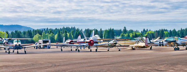 The lineup at the 2011 Olympia Air Show - June 18 and 19.