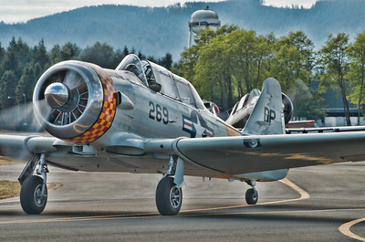 US Navy - SNJ-4 - the Navy version of the AT-6