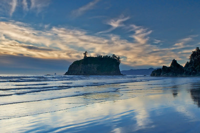 Ruby Beach on the Washington Coast