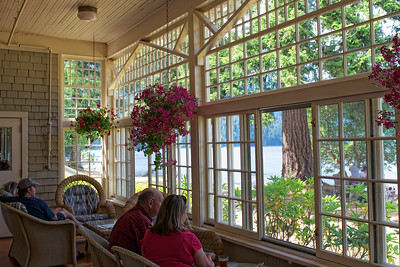 Sun Room at Lake Crescent Lodge