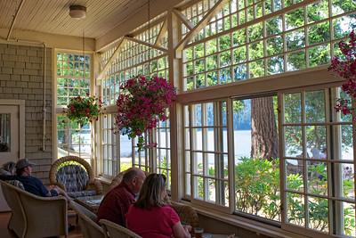 Sun Room at Lake Crescent Lodge