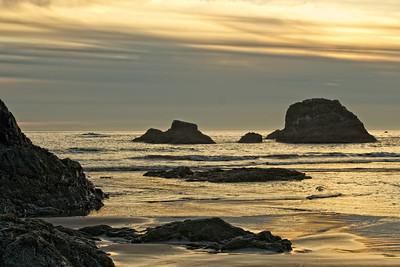 Ruby Beach on the Washington Coast