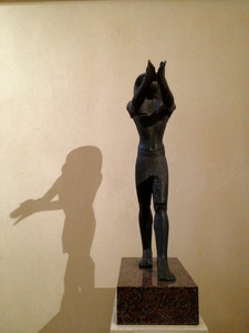 Little known fact: the Egyptians also gave us the art of shadow puppets.