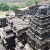 055 - Ellora, Main Temple, view from above