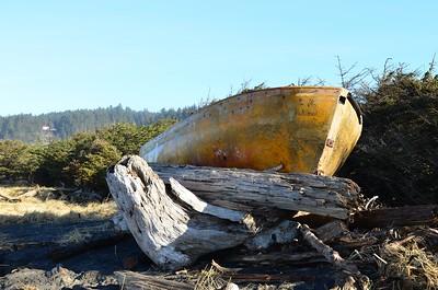 Abandoned Lifeboat