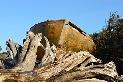 Abandoned Lifeboat