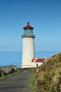 North Head Lighthouse.