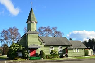 Lutheran Church in Raymond, WA