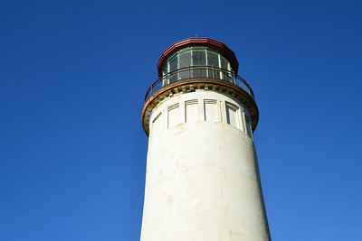 The top of North Head Lighthouse