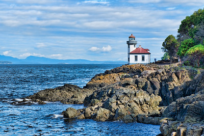 Kiln Lighthouse on San Juan Island