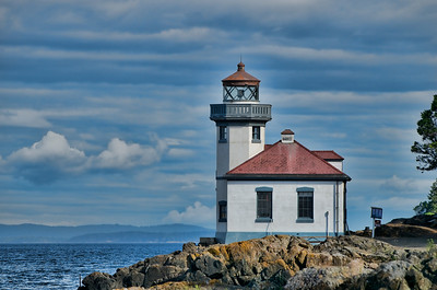 Lime Kiln Lighthouse on San Juan Island