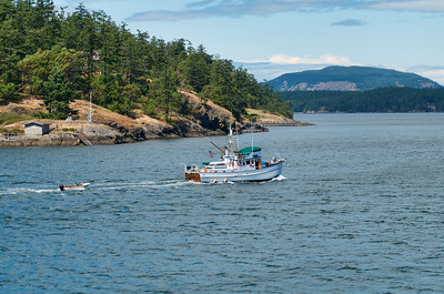 Boating in the San Juan Islands