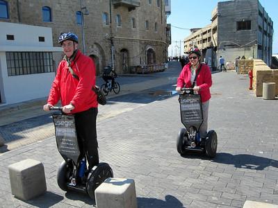 Segway excursion - Jaffo to Tel Aviv, March 12, 2011