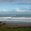 Hokitika Beach from motel