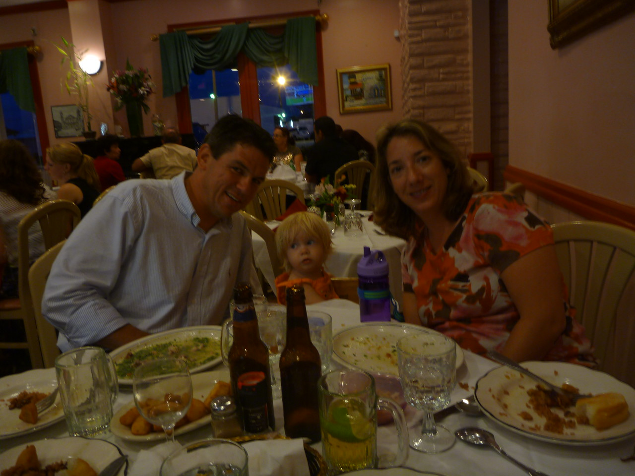 our last meal in Miami - Cuban, of course!