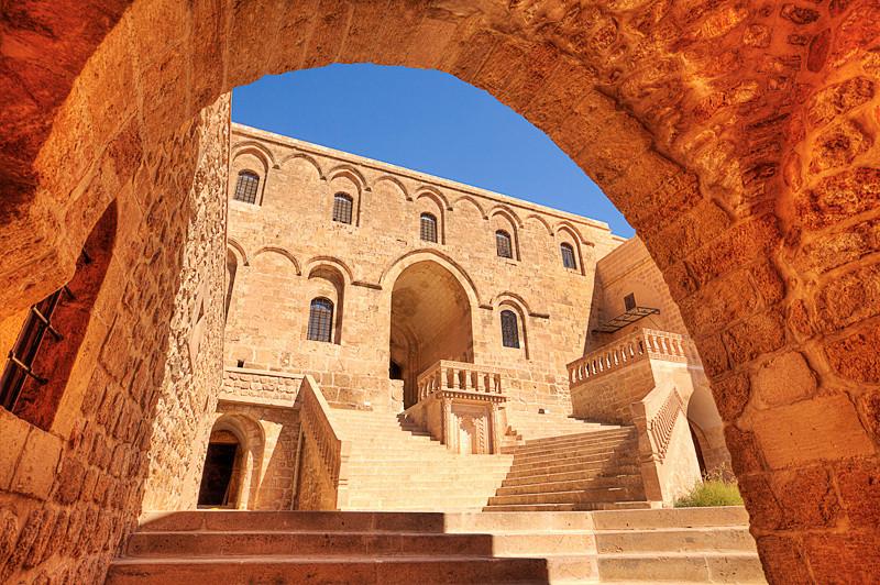Deyrul Zafaran, a monastery 6km east of Mardin.