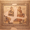 Metiochus and Parthenope Mosaic, 2nd Century A.D.