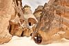 Stone houses at Pasabagi, Cappadocia