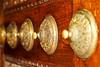 Door decorations of the Blue Mosque