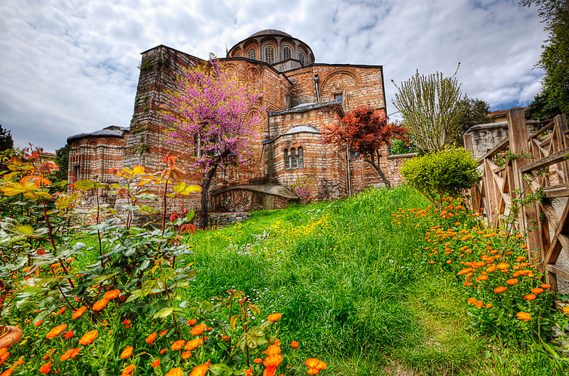 Chora Church at the Istanbul's Western District of Edirnekapi