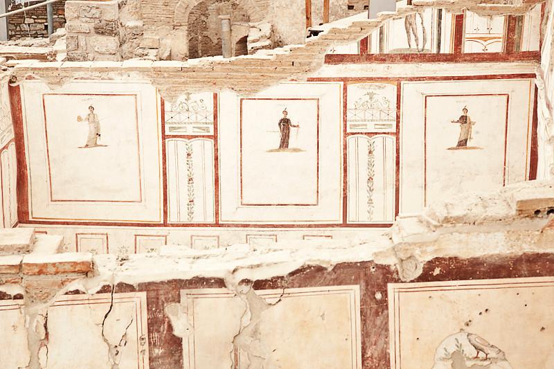Frescoes on the Terraced Houses, Ephesus