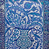 Iznik tiles in Baghdad Kiosh, Topkapi Palace