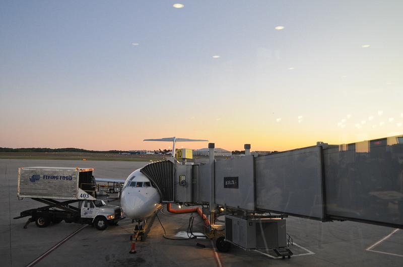 I'm leaving, on a jet plane...