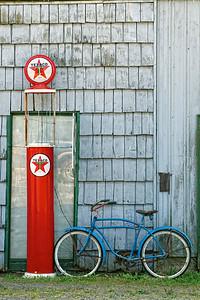 Old stuff outside a store in Montesano, WA