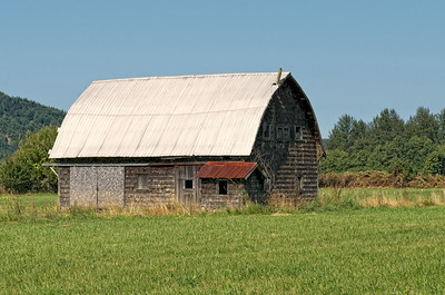 Old barn near Satsop, Washington.