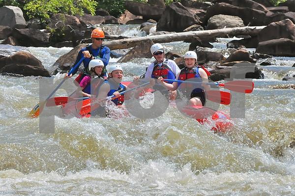 2011.07.11 Ocoee River Rafting Trip