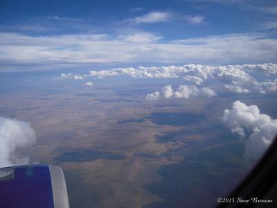 2011/09/13 Flying to Jackson Hole WY