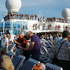 Princess Grand deck as we departed from Fort Lauderdale