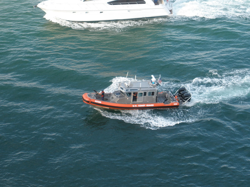 Coast Guard patrol at Fort Lauderdale
