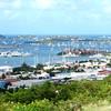 St Maarten harbor