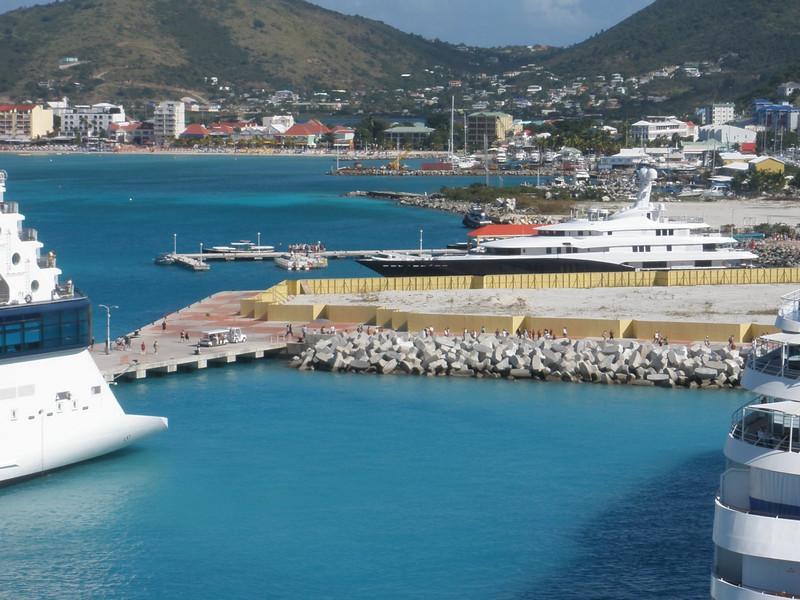 Harbor at St. Maarten