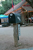 Now that's the kind of mailbox I need for our bills. LOL