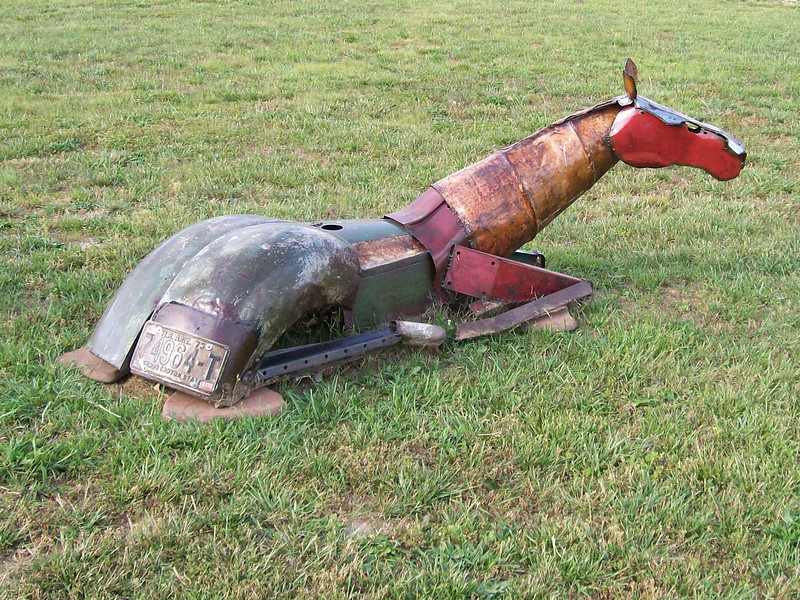 Horse Art located at Mountain View, MO
