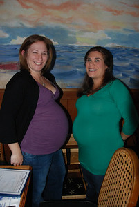 Cassie is having twins and Sherry is happy to just be having one!