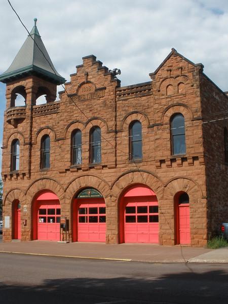 Historic Calumet fire department